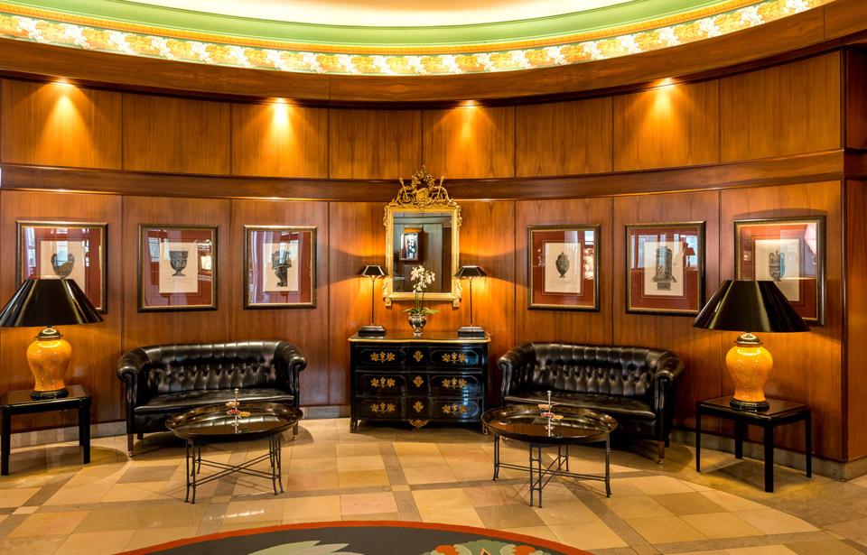 Lobby im Dorint Hotel Bremen