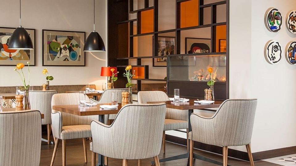 Blick ins Restaurant, Ameron Hotel Königshof