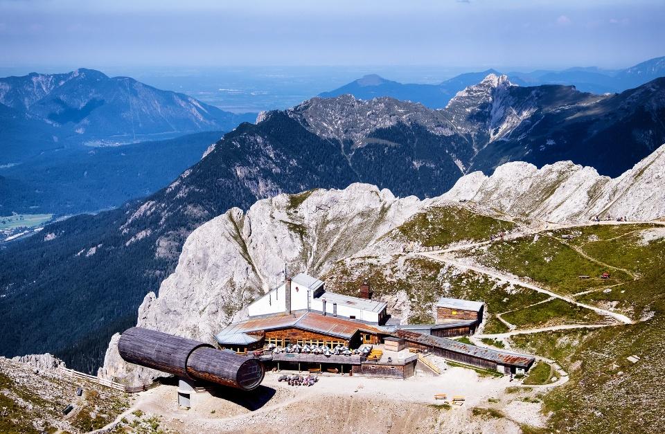 Karwendelspitze im Alpenpark Karwendel