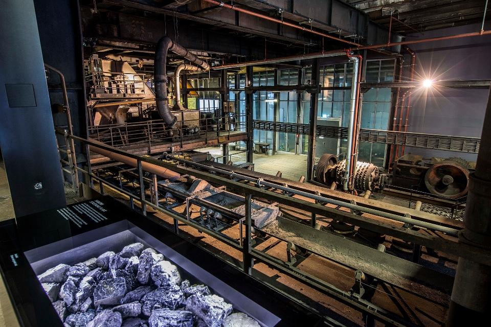 Denkmalpfad der Zeche Zollverein