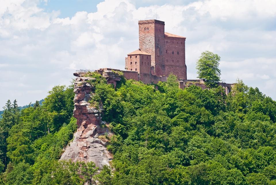 Burg Trifels bei Annweiler, Rhein-Neckar-Gebiet