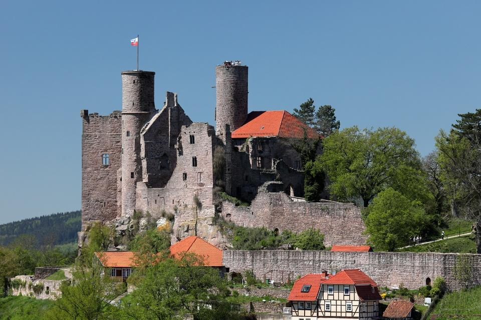 Burgruine Hanstein bei Bornhagen, Eichsfeld