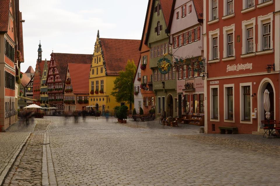 Weinmarkt in Dinkelsbühl, Franken