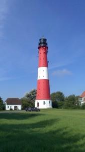 Leuchtturm Insel Pellworm von Annette Salomon