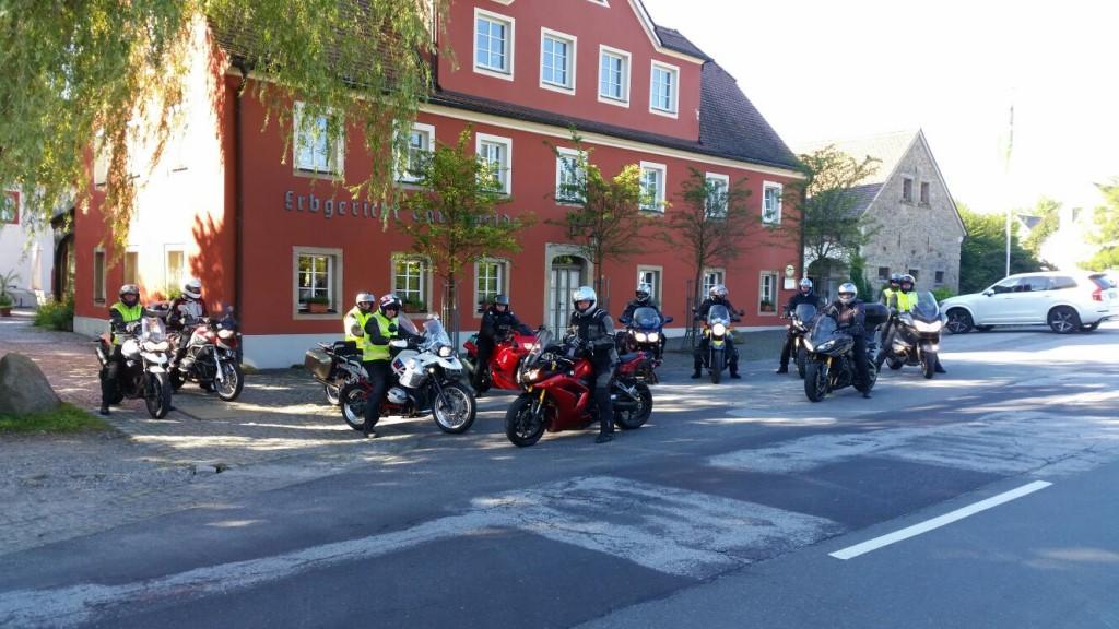 Motorradtour im Hotel Erbgericht