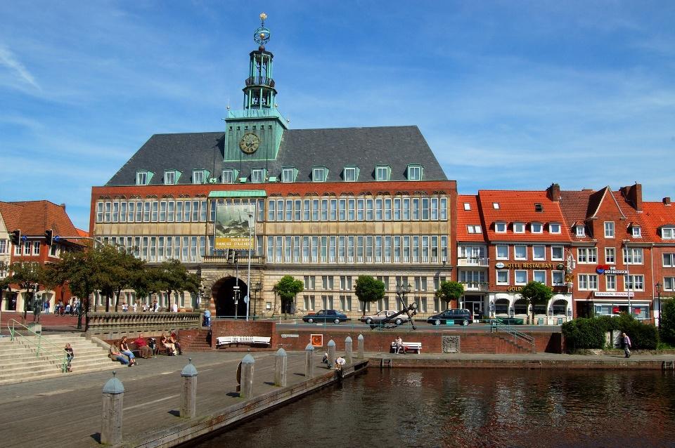 Rathaus Emden, Ostfriesland
