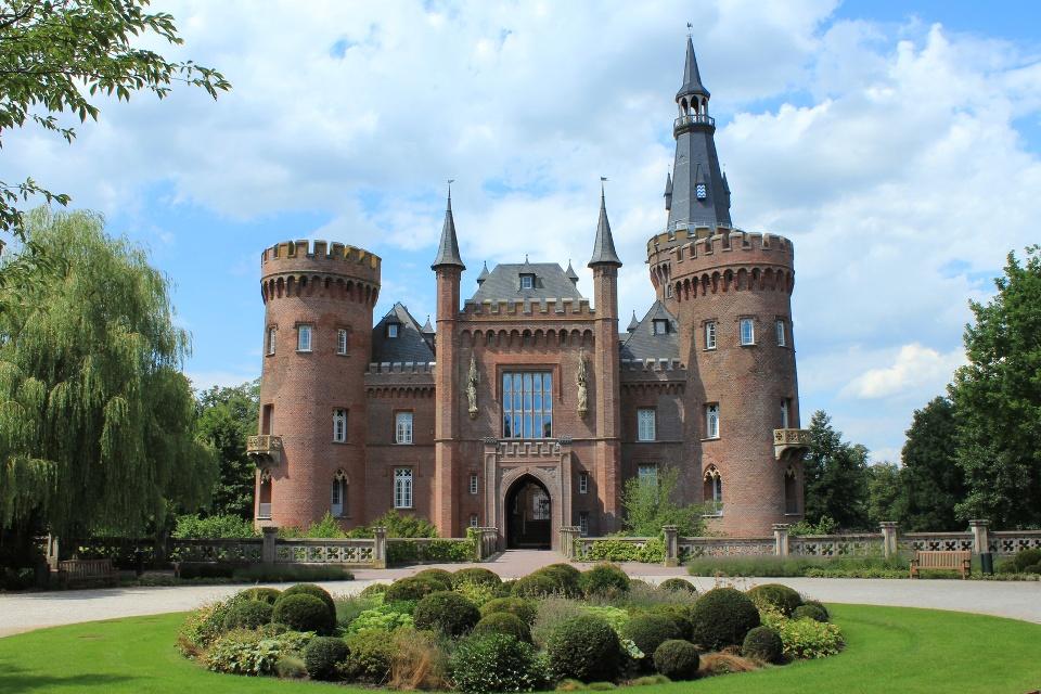 Schloss Moyland am Niederrhein