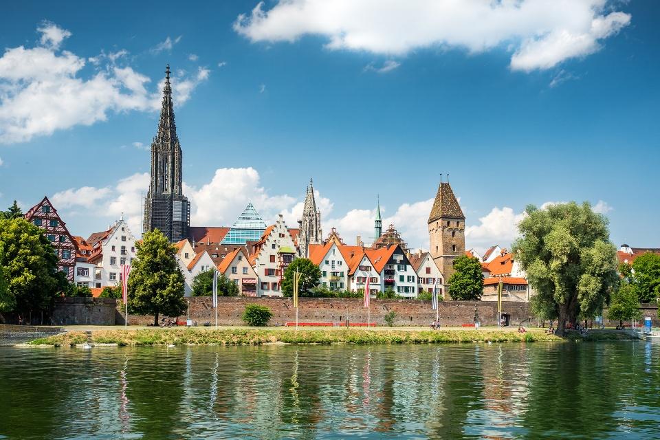 Ulm an der Donau - Radwege Oberschwabens