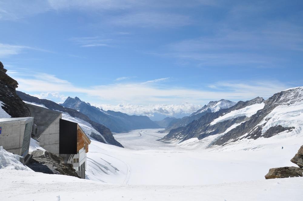 Aletschgletscher vom Jungfraujoch