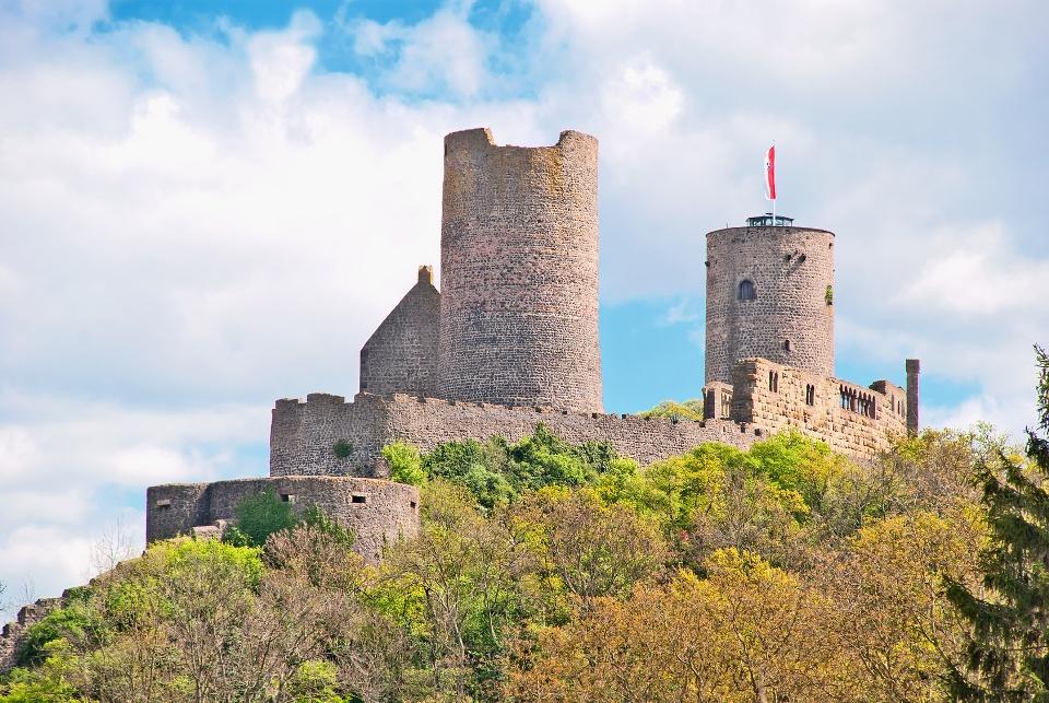 Burgruine Münzenberg in der Wetterau