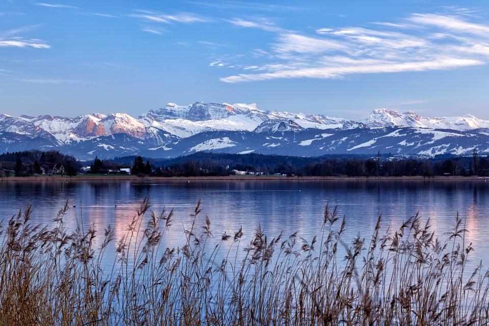 Greifensee im Schweizer Kanton Zürich