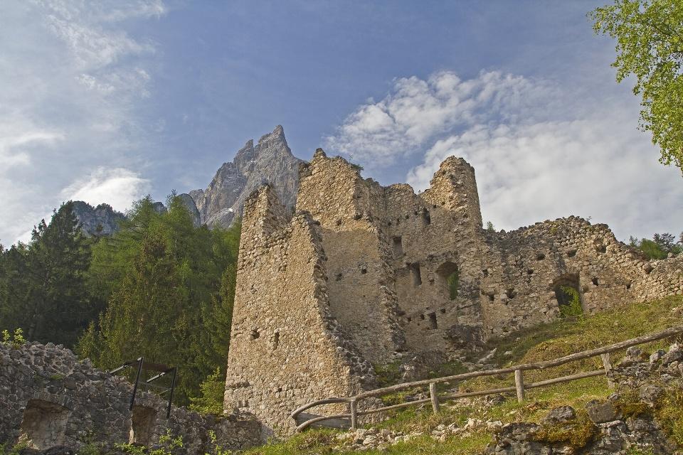 Ruine Hauenstein in Südtirol, Seiser Alm