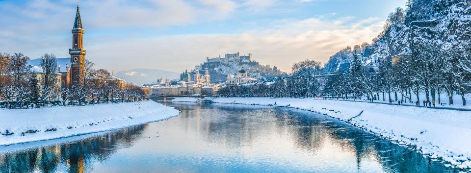 Salzburg im Winter