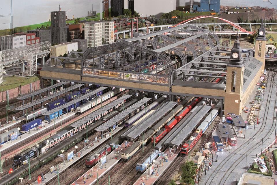 Hauptbahnhof Hamburg im Miniatur Wunderland