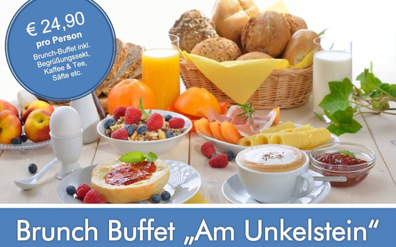 Brunch Buffet © Hotel Oberwinter