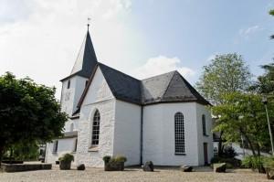 """""""Bunte Kerke"""" in Lieberhausen - Der Bergische Panoramasteig"""