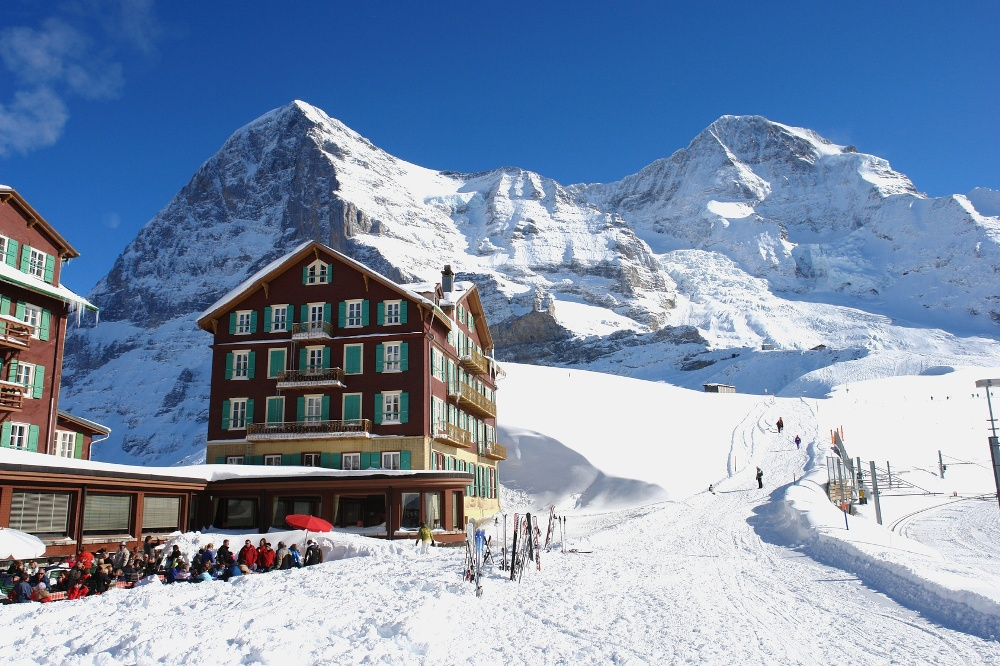 Winter in Grindelwald - Kleine Scheidegg