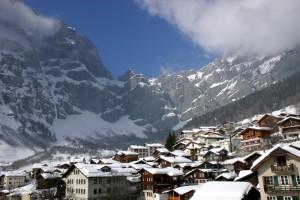 Leukerbad, Schweiz, Wintersportorte