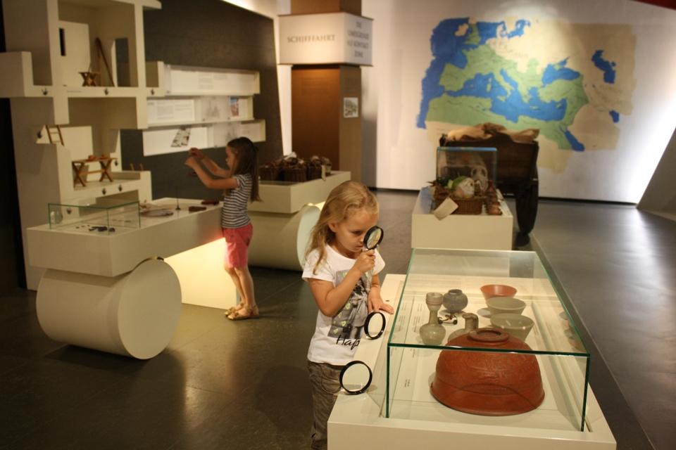 Ausstellung in der RömerWelt Rheinbrohl