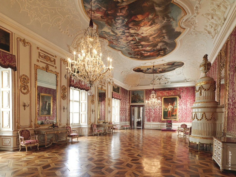 Thronsaal in der Salzburger Residenz