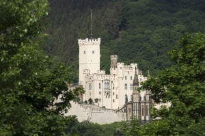 Schloss Stolzenfels bei Koblenz am Rheinburgenweg