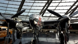 Flugzeug im Hangar-7, Salzburg