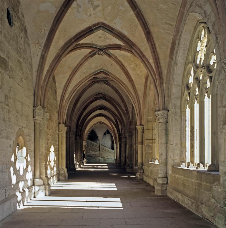 Kloster Maulbronn, Nordflügel des Kreuzgangs