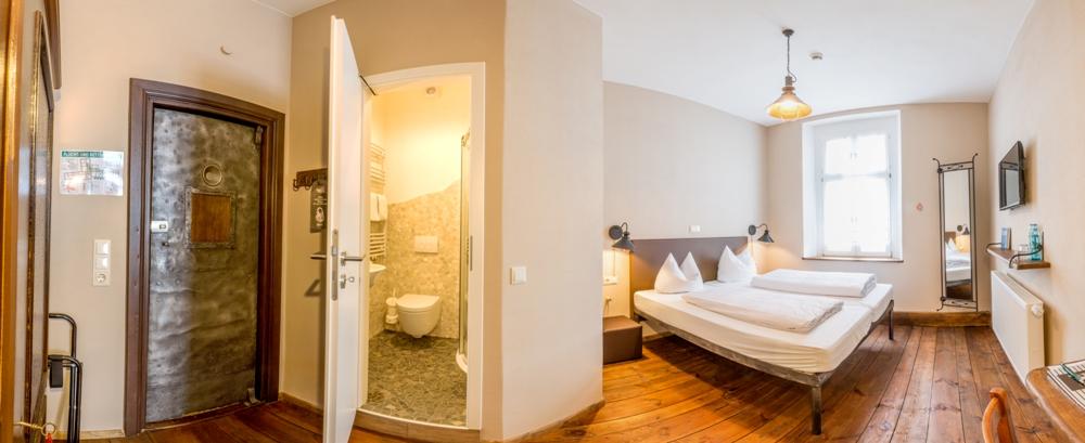 Doppelzelle im Hotel Fronfeste