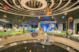 Galaxy of Balls im FIFA Museum Zürich