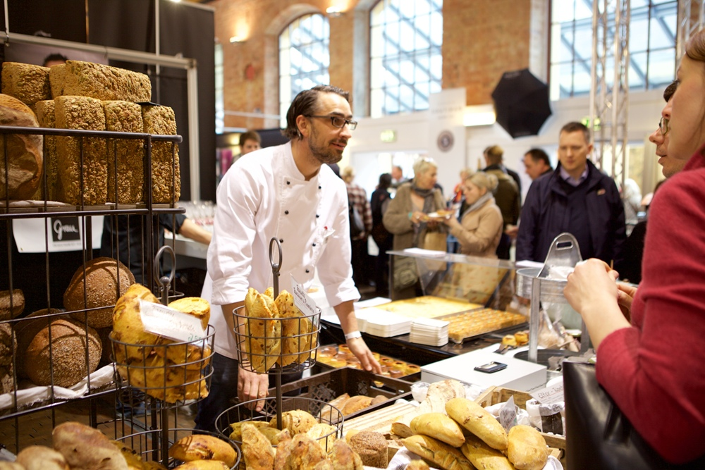Aussteller auf der kulinart in Stuttgart
