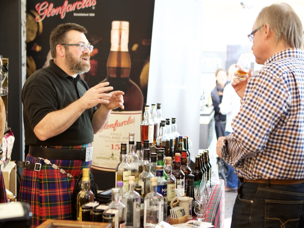 Schottischer Whisky auf der kulinart in Stuttgart
