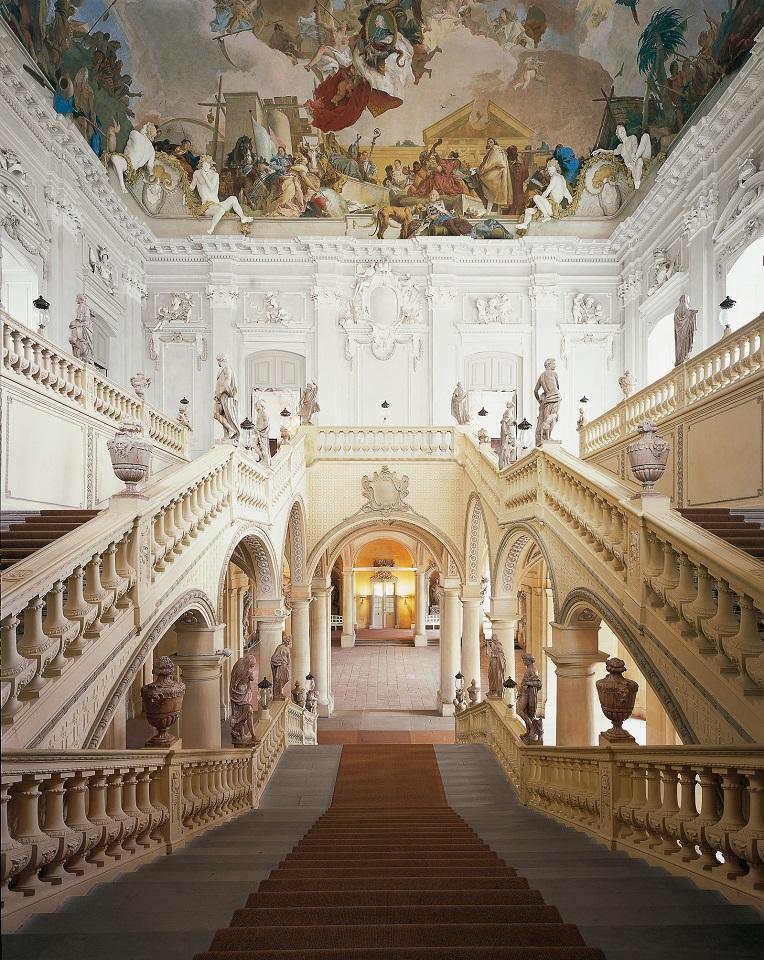 Residenz Würzburg, Treppenhaus
