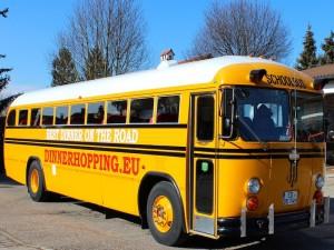 Dinnerhopping München, Partybus
