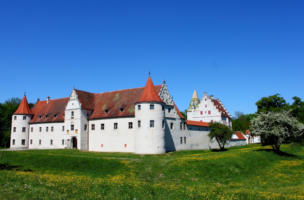 Schloss Grünau bei Neuburg an der Donau, Donaumoos