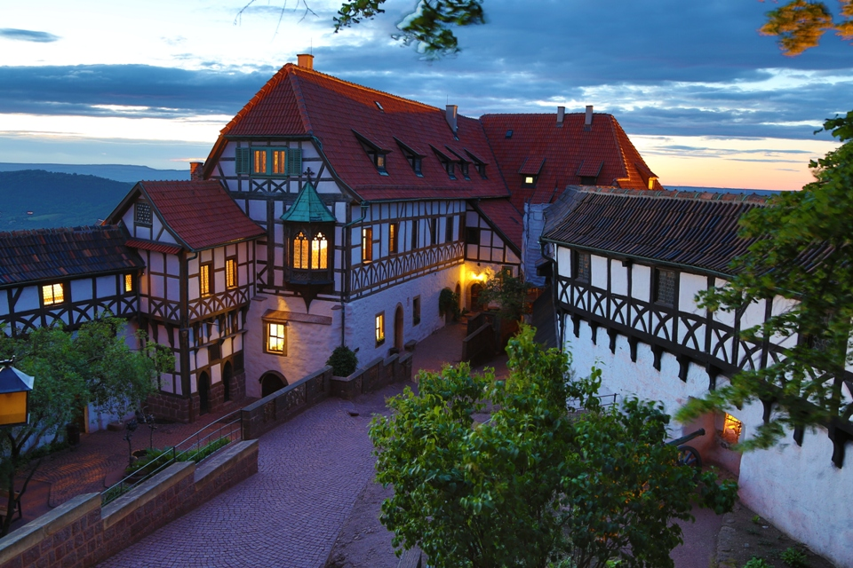 Burghof der Wartburg
