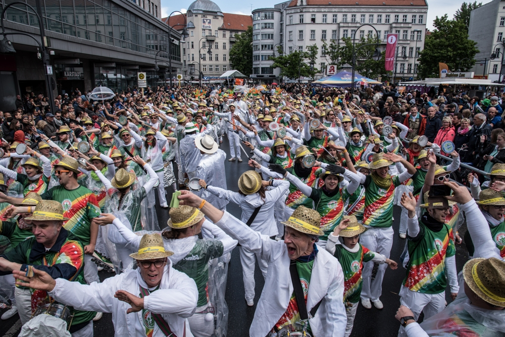 Sapucaiu No Samba beim Straßenumzug